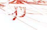 Fototapeta  - 3D Red Space © zeber
