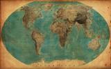 vintage map - 101521449