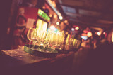 Budapest ruin bar faded