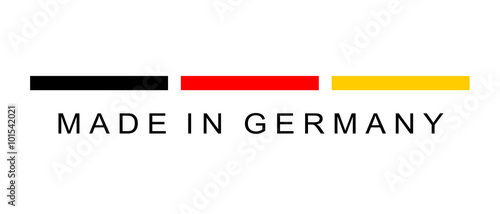 canvas print picture Made in Germany Logo