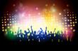 Obrazy na płótnie, fototapety, zdjęcia, fotoobrazy drukowane : Party people in club