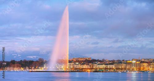 Overview of Geneva, Switzerland