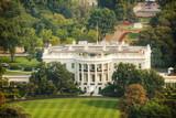 Fototapety The White Hiuse aerial view in Washington, DC