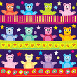 Cartoon bear background