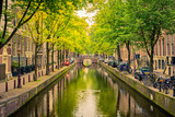 Fototapety Canal in Amsterdam