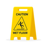 Wet floor sign - 101639883