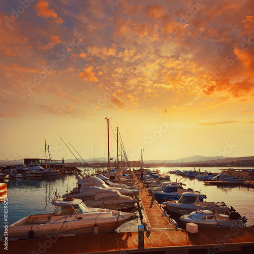 Foto op Aluminium Strand Fuerteventura Caleta del Fuste Canary Islands
