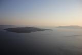 Santorini - widok na kalderę