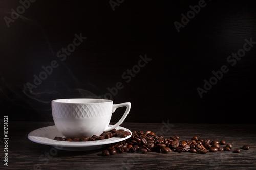 Papiers peints Café en grains cup of coffee