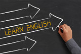 Fototapety Learn English Concept
