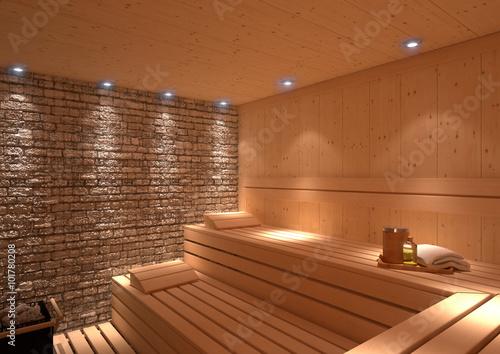 rustikale Sauna - 101780208