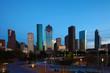 Houston, Texas skyline at twilight