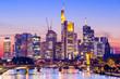 Frankfurt, Germany Skyline