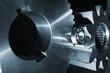 aerospace industry, titanium cogwheels and gears