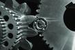 titanium cogwheels and bearings, aerospace industry