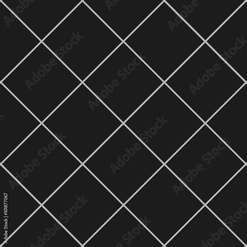 Grid Square Gray Black Background Vector Illustration - 101877067