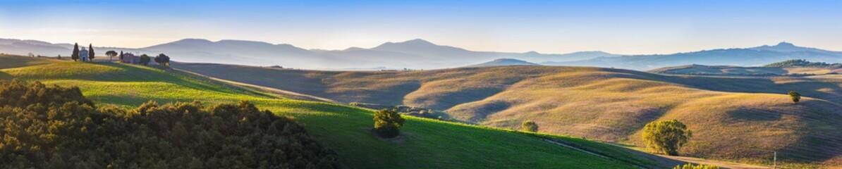 Fototapeta Toskania panorama