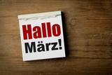 Hallo März