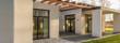 Modern design concrete house - 101908230