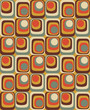 Vector Colorful abstract retro seamless geometric pattern