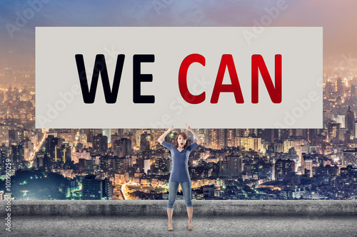Poster We can