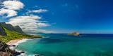 oahu east coast view landscape - 101996677