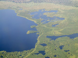aerial view of the sud, south sudan