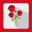 Obrazy na płótnie, fototapety, zdjęcia, fotoobrazy drukowane : bouquet of roses design
