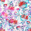 Abstract seamless pattern with flowers. Vector, EPS 10