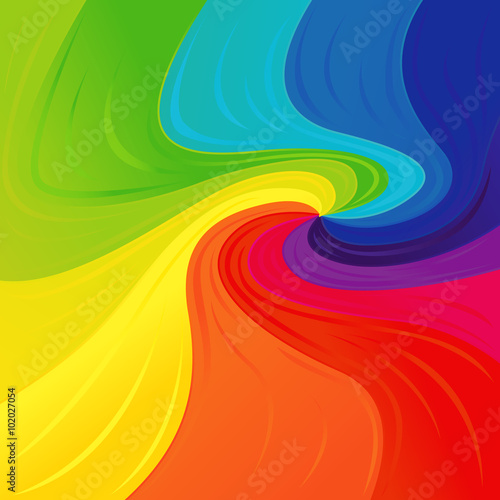Pattern with colourful spectrum colors © natareal