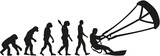 Kitesurfing evolution