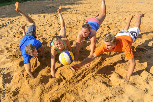 Trendsport Beachvolleyball Poster