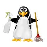 pinguino pulizie
