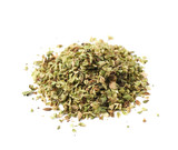 Pile of oregano seasoning isolated - 102101852
