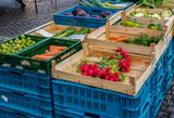 Gemüsemarkt Wochenmarkt