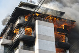 building on fire / big fires /news - 102105449