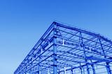 Fototapety Steel structure workshop