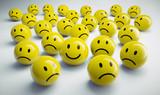 Gelbe Smiley-Gruppe