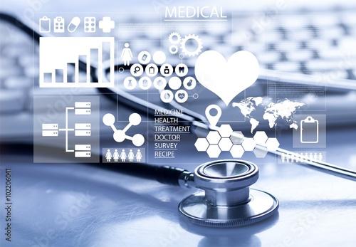 Poster Medical technology.