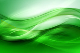 Abstract beautiful motion green background for design. Modern bright digital illustration. - 102229055