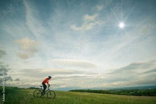 Poster Concept vélo tout chemin