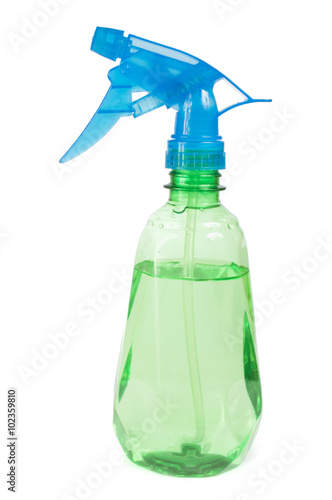 Poster spray bottle for cleaning