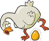 Goose golden egg