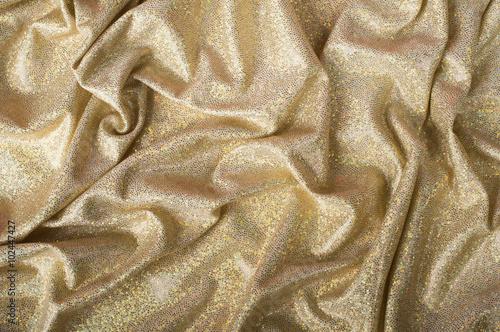 Fotobehang Stof gold background cloth