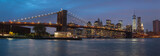 Panorama of Brooklyn Bridge, NYC