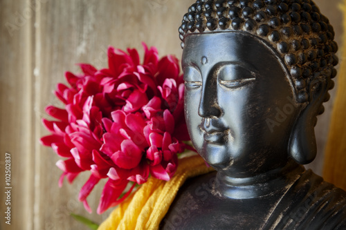 Poster Statue Bouddha