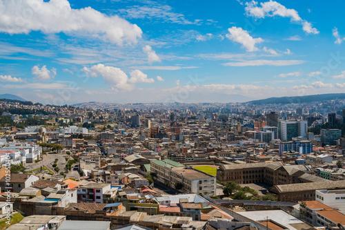 Foto op Canvas Bedehuis Quito