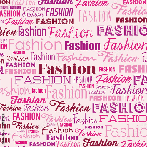 Fototapeta fashion poster design