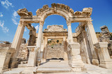 Wonderful Hadrian Temple. In the ancient city of Ephesus, Turkey.