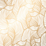 Fototapety Damask seamless floral pattern. Royal wallpaper.